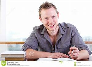 Young Man Writing A Letter Royalty Free Stock Photos ...