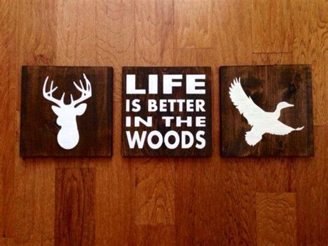 Duck Silhouette Wood Sign Custom Duck Sign - A Interior Design