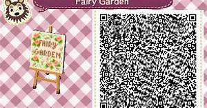 ACNL QR Code: Fairy Garden Sign | Animal Crossing: New ...