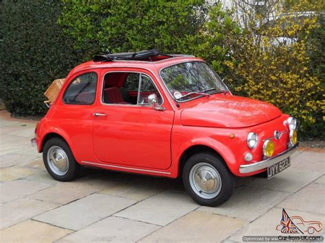 Fiat 500 Classic Lhd / 3 Owners / Uk Registered / Fully