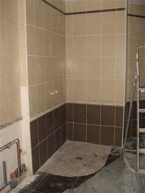 carrelage  faience salle de bain construction