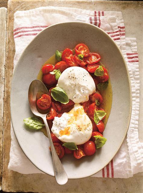 burrata  la tomate cerise confite ricardo