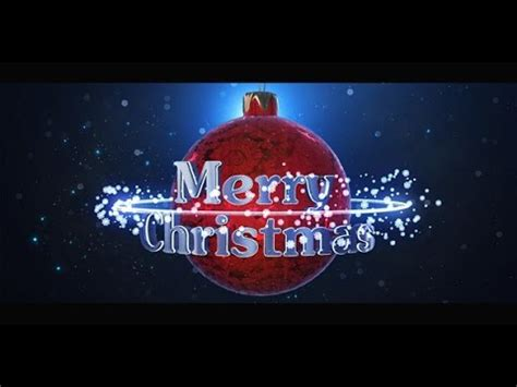 christmas logo after effects template christmas logo after effects template youtube