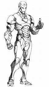 Iron Coloring Man Pages Printable sketch template