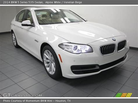 Bmw 5 Series Sedan Photo by Alpine White 2014 Bmw 5 Series 535i Sedan Venetian
