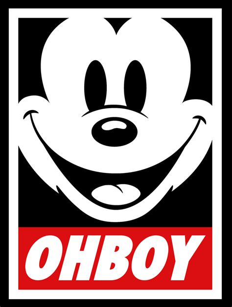 obey mickey mouse quotes quotesgram
