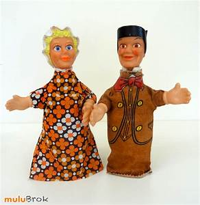 Marionnette à Main : autres jeux anciennes marionnettes main c sar 1976 guignol et son amie mulubrok ~ Teatrodelosmanantiales.com Idées de Décoration