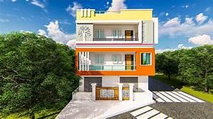 Friend, Elevation, Design, Balcony, U2013, Modern, House