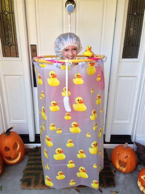 Shower Costume   Homemade halloween costumes, Homemade ...