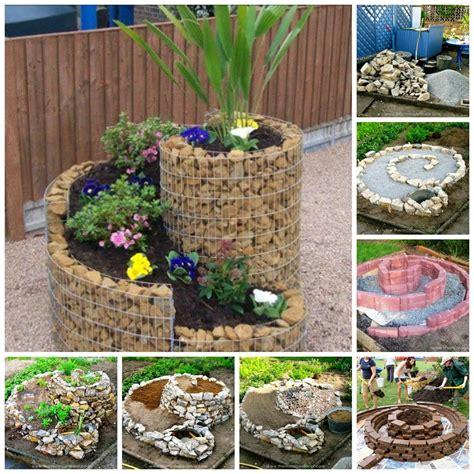 How To Build An Herb Spiral For Small Space (video)