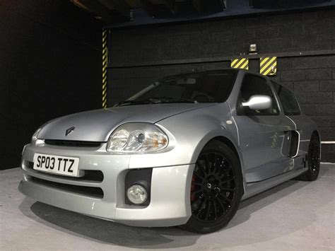renault clio sport used 2003 renault clio v6 renaultsport v6 for sale in kent