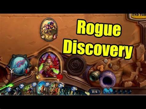 Hearthstone Fun Decks Discovery Rogue  Wowcrendor Youtube