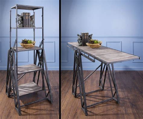 Bookcase Console Table by Convertible Console Table Bookshelf Dudeiwantthat