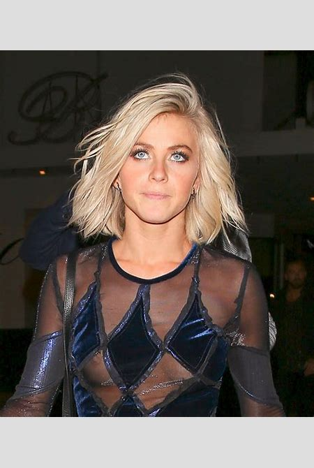 """Julianne Hough Nipple Peek At """"DWTS"""" After Party In Hollywood 