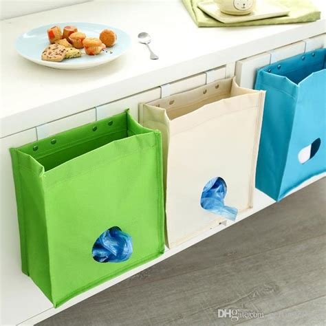 hanging cabinets in kitchen 2017 household garbage bags storage box plastic bag 4135
