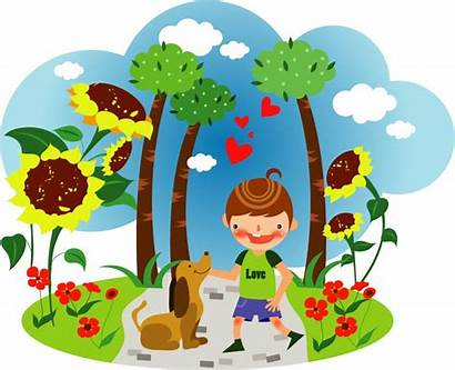 Summer Clip Clipart Children Graphics Vector Illustrations