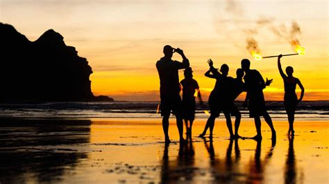 piha beach waitakere  black sand beach close  auckland