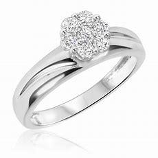 12 Ct Tw Diamond Trio Matching Wedding Ring Set 10k
