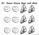Ham Eggs Coloring Seuss Dr Pages Printable Hams Six Bettercoloring Worksheets Episodes Various sketch template