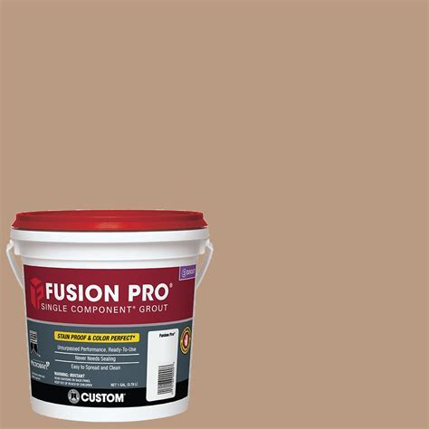 Custom Building Products Fusion Pro #180 Sandstone 1 Gal