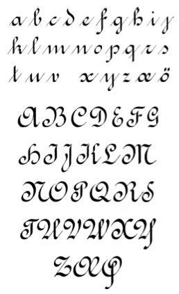 handwriting models fonts pinterest calligraphy