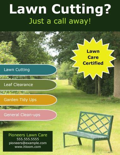 lawn care advertising ideas aumondeduvincom