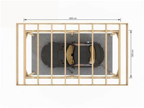 Carport Moderne 18m²   ZIMA   Chalet bois discount