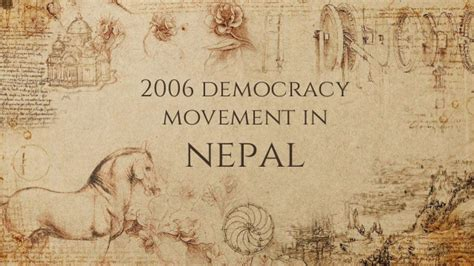 democracy movement nepal