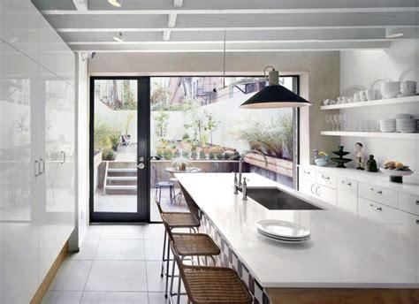 row house kitchen design robinson grisaru architecture pc 4908