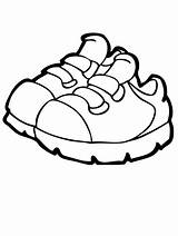 Coloring Shoes Pages Popular sketch template