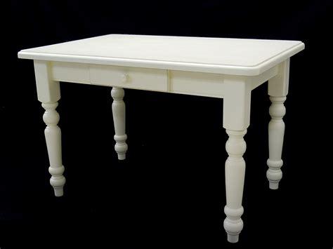 Tisch Esstisch Küchentisch 120 X 80 Cremeweiß Mit
