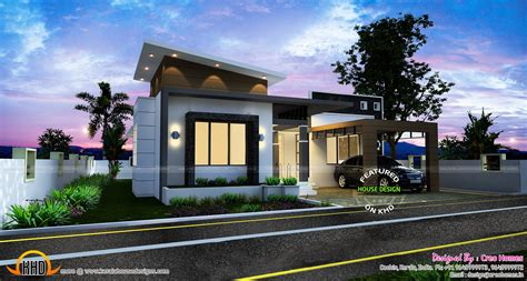 contemporary one house plans 3 beautiful small house plans kerala home design and