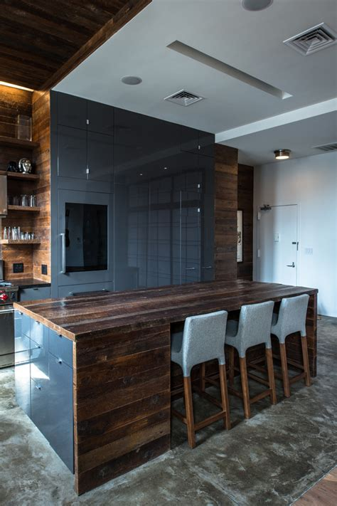 rustic modern kitchen cabinets 59 cool industrial kitchen designs that inspire digsdigs 5013