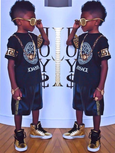 Shirt guys toddler jewels fashion kids fashion swag gold black versace kids fashion ...