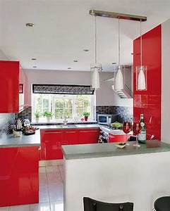 Red Kitchen Designs Photo Gallery. pictures of kitchens modern red ...