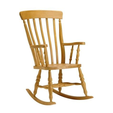 high back slat rocking chair living room chairs pine