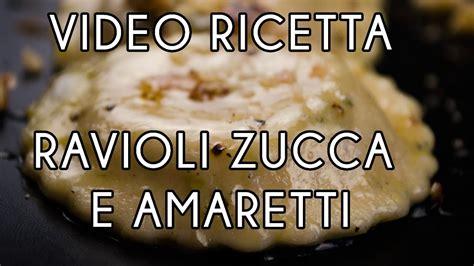 Ravioli Alla Mantovana Ravioli Alla Mantovana Con Zucca E Amaretti