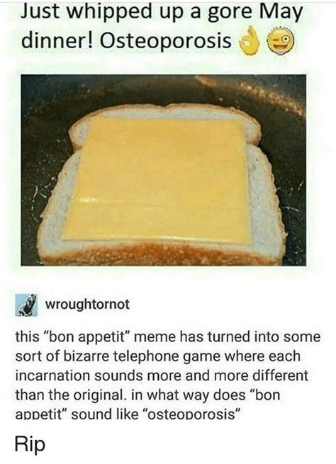 Bon Appetit Memes - funny bon appetit memes of 2017 on sizzle appetite