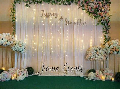 wedding decoration malaysia jiome wedding decor event