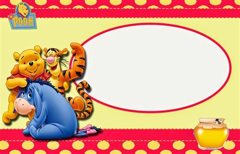 Winnie The Pooh Templates by Winnie The Pooh Free Printable Invitations Oh My