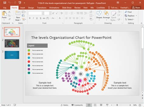 download template powerpoint 2017 satelit best chart powerpoint templates in 2017