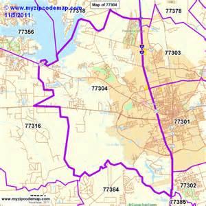 Zip Code Map Conroe Texas