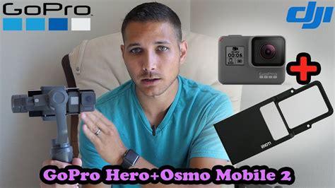 dji osmo mobile   gopro adapter   work youtube