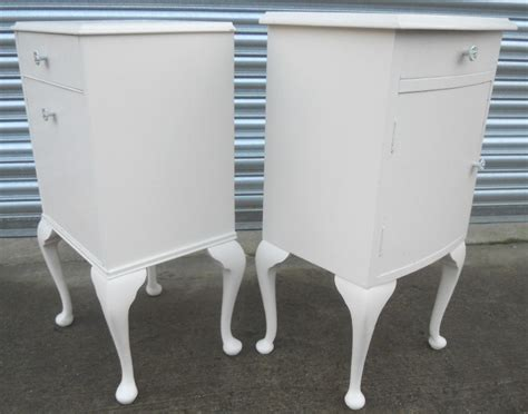 white cabinets for kitchen pair louis style white bedside cabinets sold 1267