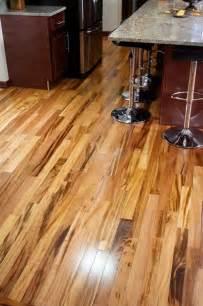 tigerwood koa prefinished modern hardwood flooring minneapolis by