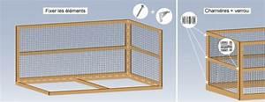 Fabrication D Une Voliere Exterieur : comment construire une voli re ext rieure ~ Premium-room.com Idées de Décoration