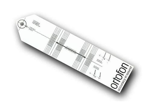 purchase template ortofon cartridge alignment protractor