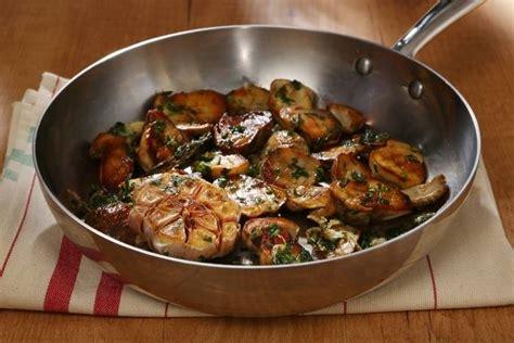 cuisiner des bolets recette de poêlée de cèpes à la bordelaise facile et rapide