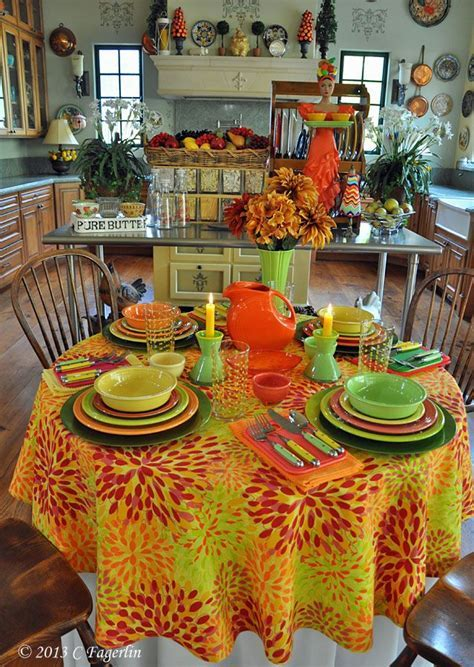 336 best images about Fiesta Ware Table Scapes 2015 on