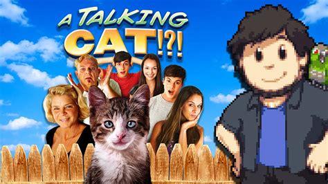 a talking cat a talking cat jontron